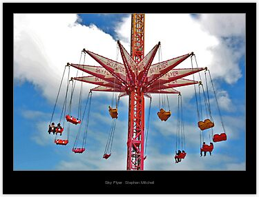 Sky Flyer, by Stephen Mitchell, on Redbubble