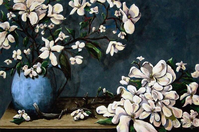 Magnolias by © Tamarra BaVincio