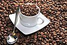 Coffee Break, by Stephen Mitchell, buy on Redbubble