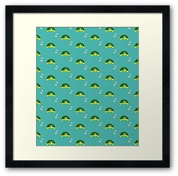 Framed Print: Kenny - The Baby Tortoise