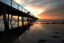 Sunset at Semaphore by tarsia