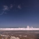Southern Ocean Beach in Moonlight by pablosvista2