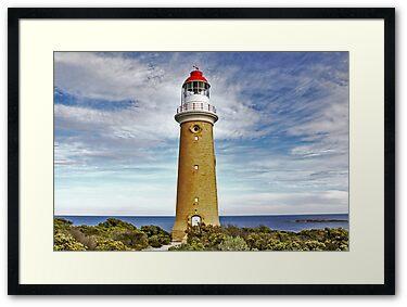 Framed Print: Cape du Couedic Light House
