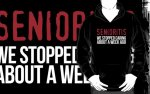 Hilarious 'Senioritis: We Stopped Caring About a Week Ago' T-Shirt