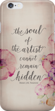 'The Soul of The Artist' - Phone Case by WOCADO
