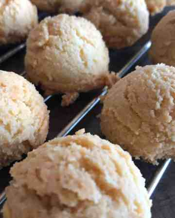 low carb amaretti cookies