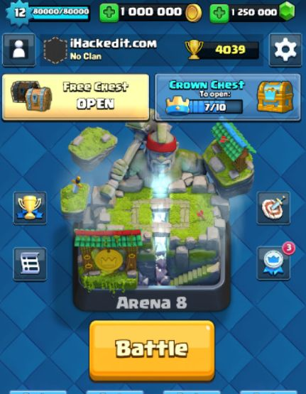 clash royale mod apk new version