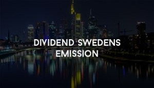 Dividend Swedens Emission
