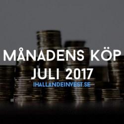 Månadens Köp Juli 2017