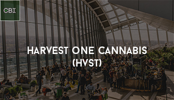 Harvest One Cannabis (HVST) - En god grund!