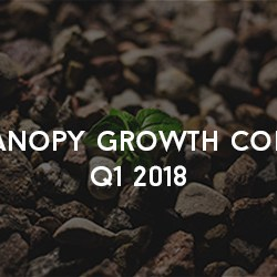 Canopy Growth Corp Q1 2018