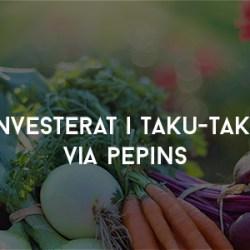 Investerat i Taku-Taku via Pepins