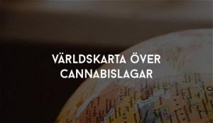 världskarta över cannabislagar
