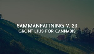 Grönt ljus för cannabis