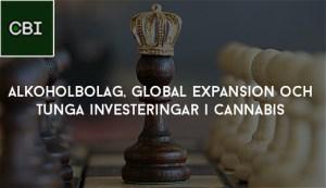 Alkoholbolag, global expansion och tunga investeringar i cannabis