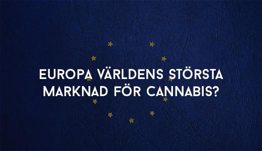 Europa Världens Största Marknad för Cannabis?