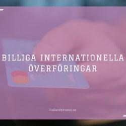 Billiga internationella överföringar