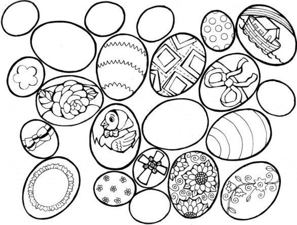 Coloring Pages Easter