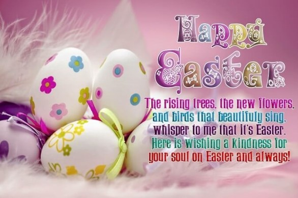 Messages for Easter