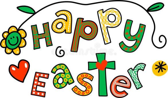 Happy Easter Clip Art 2018
