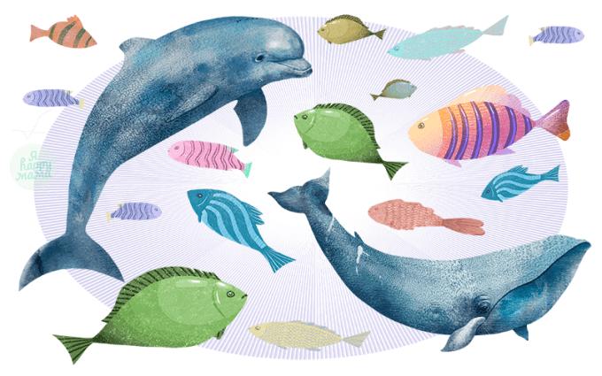 Загадки про рыб для детей