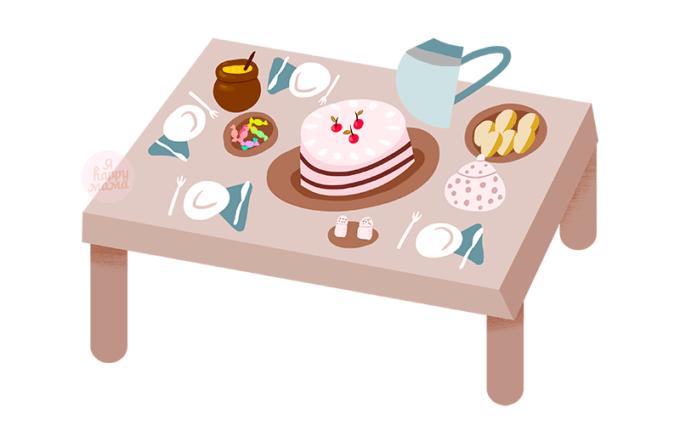 Детские загадки о еде