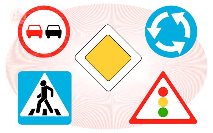 Загадки про дорожные знаки детям