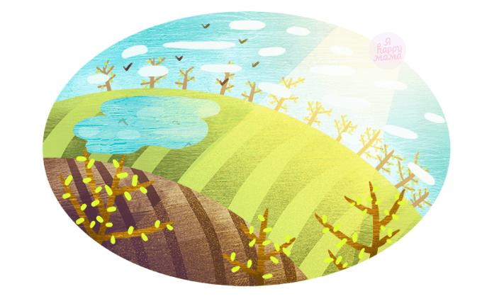 Загадки про весну для детей