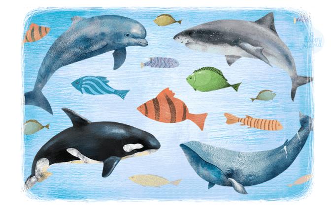 Стихи про рыб для детей