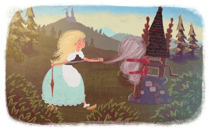 Сказка Бабушка Метелица