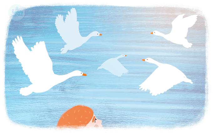 Сказка Чудесное путешествие Нильса с дикими гусями