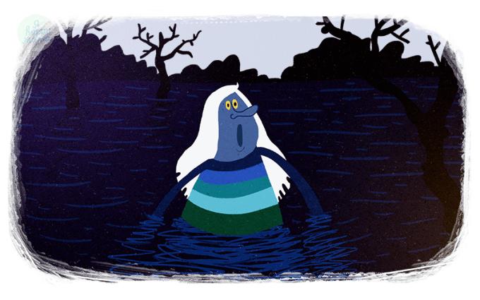 Песня Водяного из мультфильма «Летучий корабль»