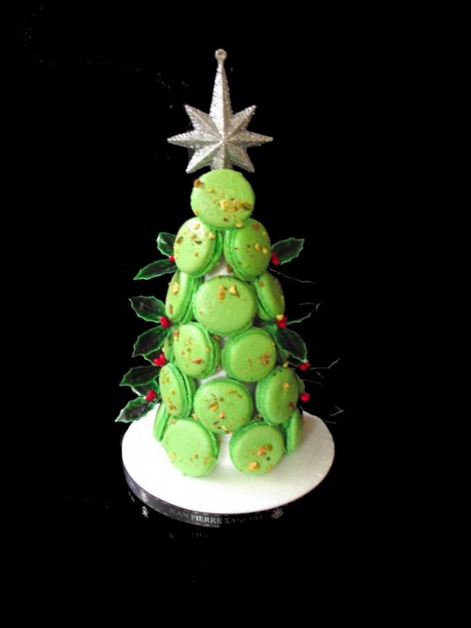 елка из печенья