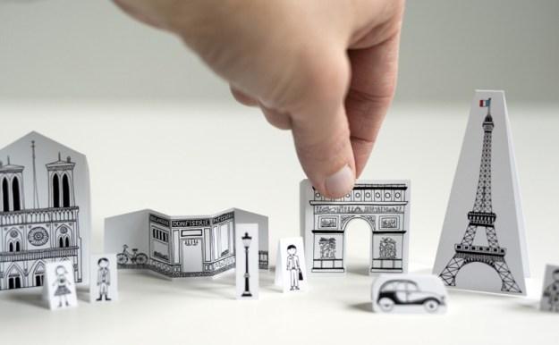 бумажный париж