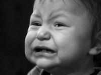 Если ребенок сильно плачет
