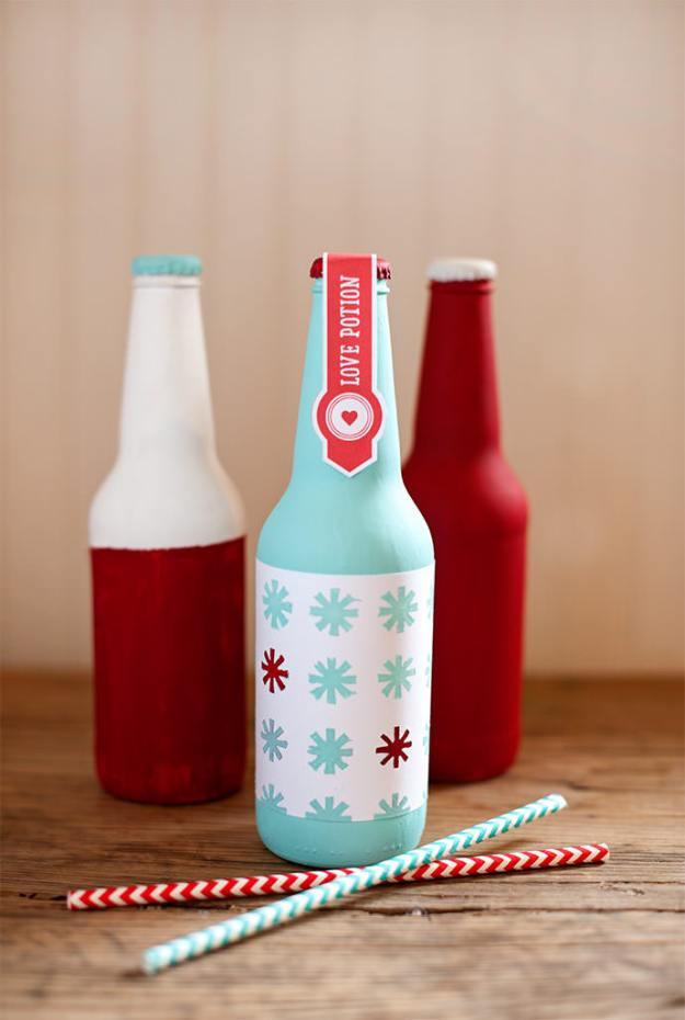 бутылка с любовью