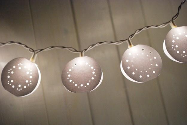 гирлянды фонарики