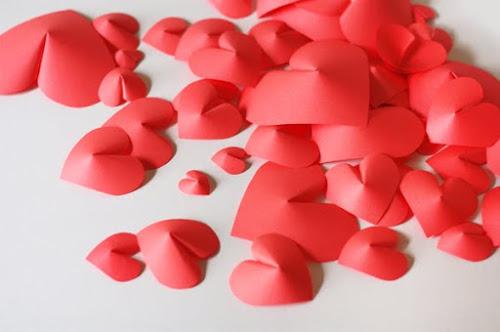 сердечки на стену6