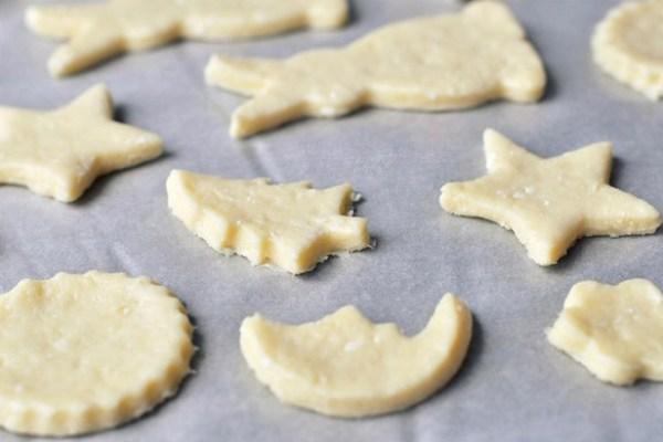 творожное детское печенье