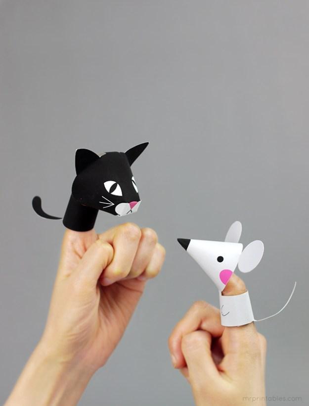 бумажные игрушки своими руками5