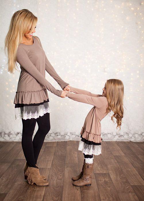как похожи мамы и дочки