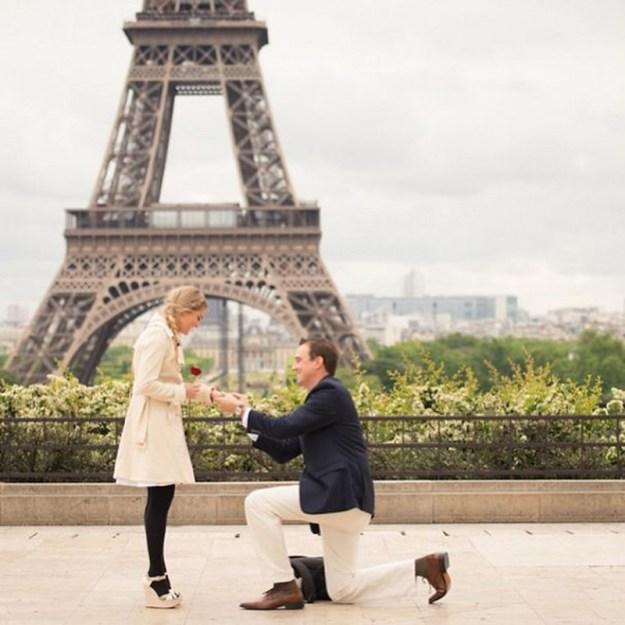 необычное предложение выйти замуж