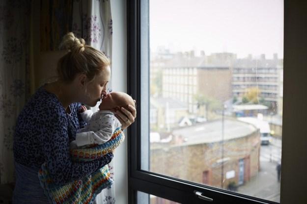 первый день после родов