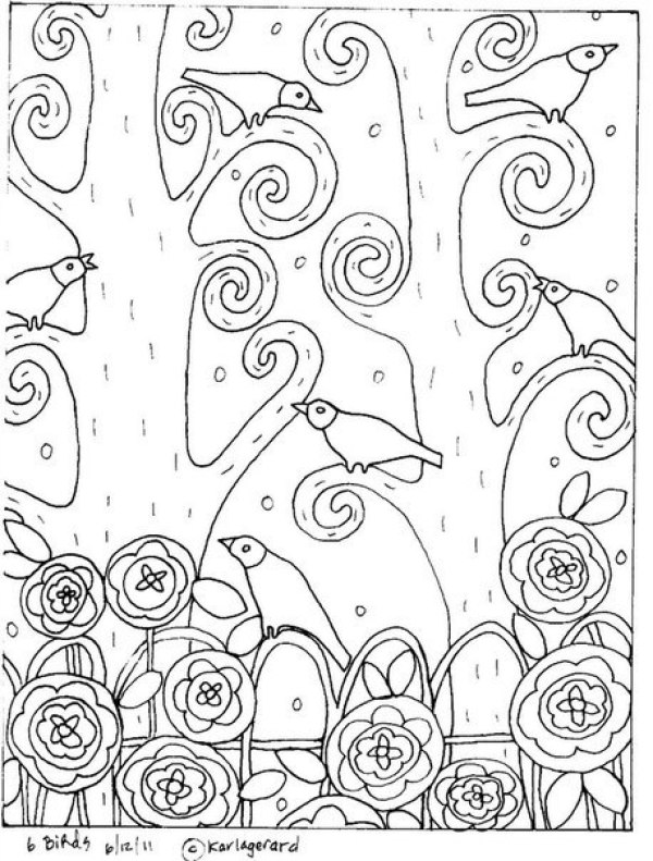 раскраски Карла Жерар 5