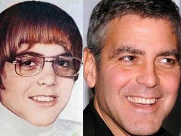 Джордж Клуни в детстве
