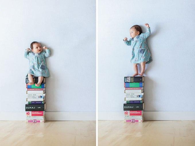идея фото с младенцем 8