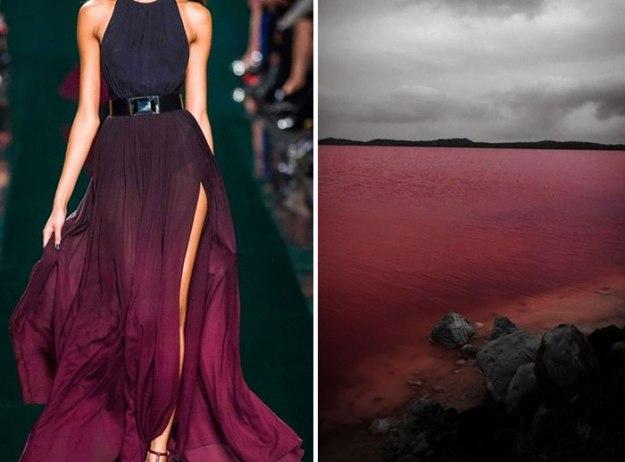 платья и природа