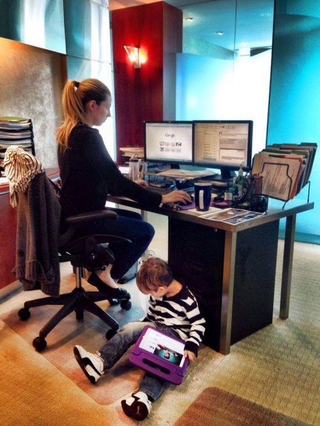 работа и ребенок