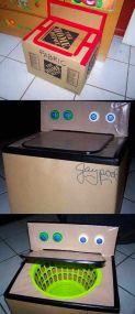 Простая картонная коробка может занять вашего ребенка на долгое время!