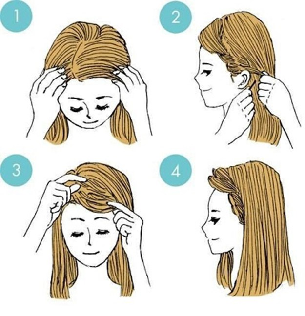 укладываем волосы